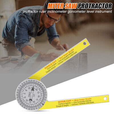 Replace Starrett Miter Saw Protractor Laser Engraved Dial Scale Angle • 7.99£