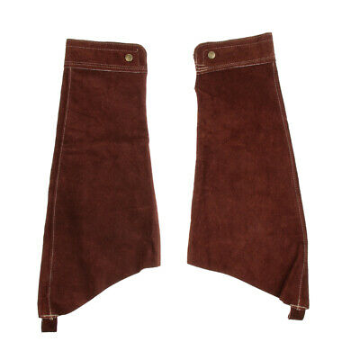 1 Pairs Welding Protective Sleeves Cuffs -Brown • 13.43£