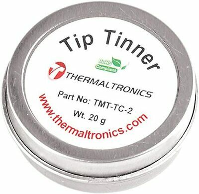 Lead Free Tip Tinner Soldering Iron Tips Container Cleaner Solder Residue ReTins • 8.95£