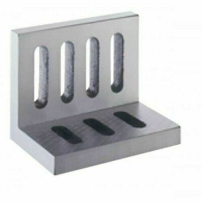 Slotted Angle Plate Webbed OPEN End 10  X 8  X 6  Cast Iron Accurate Ground- • 154£