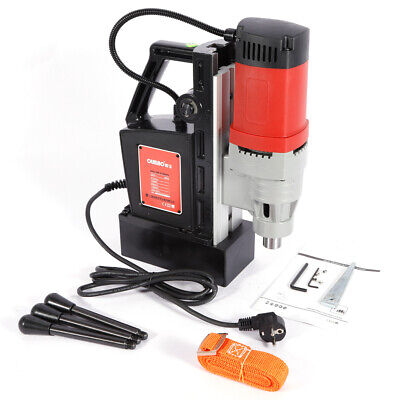 Portable Industrial Magnetic Drilling Machine Drill Metal Press 1400w 5-23mm UK • 155.03£