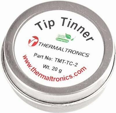Lead Free Tip Tinner Soldering Iron Tips Container Cleaner Solder Residue ReTins • 7.81£