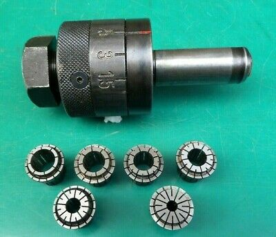 Engineers Cnc Pafix Angst Tapping Chuck 35-2036 & Collets #2 • 59£