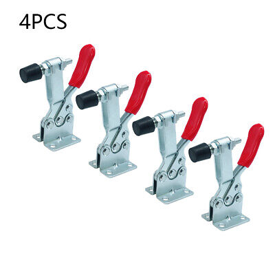 4pcs GH-201B Toggle Clamps Quick Release Hand Tool Holding Capacity 90Kg • 18.48£