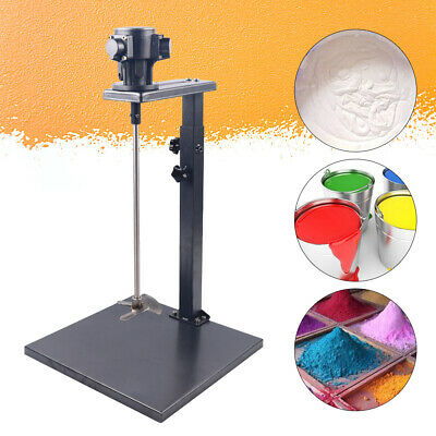1/4HP 5 Gallon Pneumatic Paint Mixing Tool Air Paint Mixer Ink Mixing Spinner UK • 110.08£