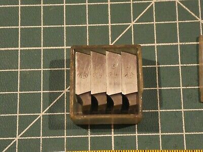 Set Of Dies /Thread Chasers~Alfred Herbert  ~ 0.19 ANF ~32 ~ S ~ 49 ~  VGC* • 5£