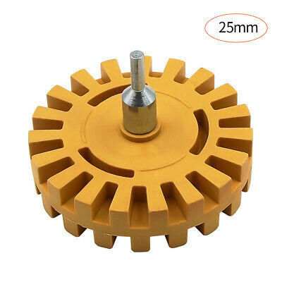 4 Inch Pneumatic Rubber Remover Wheel Car Decal And Sticker Removal Eraser G8B9 • 8.34£