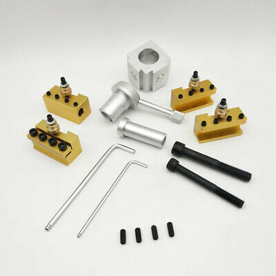 Small Size PoSmall Size Portable Quick Change Post Holder Kit Boring Bar A3S5 • 32.23£