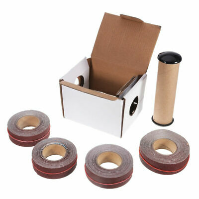 Sanding Belt Roll Box Drawable Emery Cloth Sandpaper For Woodworking Vehicles 4x • 24.43£