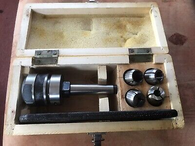 Milling Collet Chuck Set & 4 Collets - J7616 - MS2 • 29£