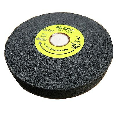 DEBURRING WHEEL 6  X 1  X 1  C/H - 7SF USE WITH TAPER-FELT CENTRE For Metal Work • 45.95£