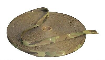 19mm - 3/4  Double Sided Crye Multicam Webbing With CTEdge™ • 2£