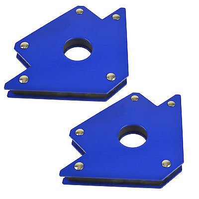 50lb / 100mm Large Welding Magnet Holder Soldering Durable Body Pair AT691_PAIR • 10.99£