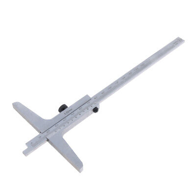 Stainless Steel Vernier Depth Gauge Gage Vernier Caliper 0-150mm • 14.59£