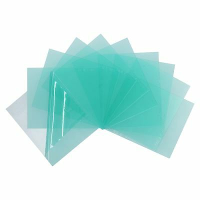 Welding Mask Clear Replacement Protective Lens Lenses 10 Pack 110mm X 90mm • 8.50£