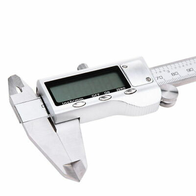 Stainless Steel Electronic Digital LCD Vernier Caliper-Micrometer Guage 6  150mm • 9.05£