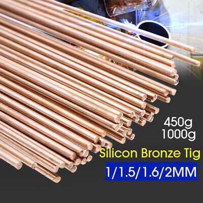 UK 1/1.5/1.6/2MM Silicon Bronze TIG Filler Rods Welding Wire 965-1035℃ 50000 PSI • 24.29£