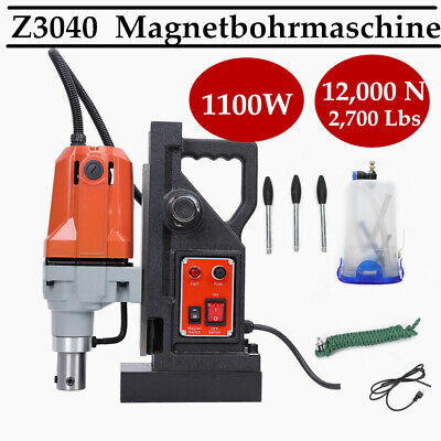 Electric Magnetic Drill Press 50mm Boring 12000N Force MD40 Magnetic Drill 220V • 189.04£