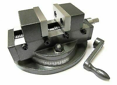 New Precision Vice Self Centering Vise With Swivel Base 4 /100mm Adjustable 360° • 125£