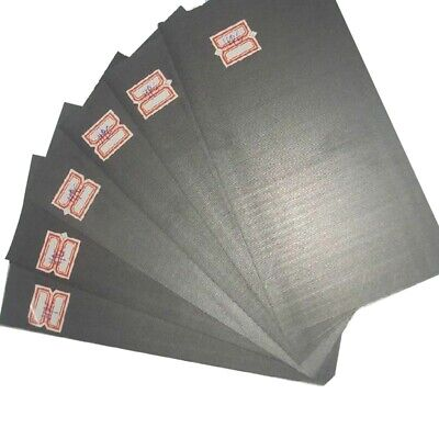 5pc 99.99% Pure Graphite Electrode Rectangle Plate Sheet Set Replacement Access • 5£