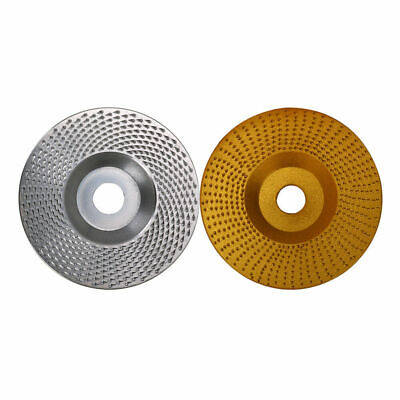 3  4  Angle Grinder Disc Carbide Grinding Wheel Coarse For Wood Abrasive Tool • 11.57£