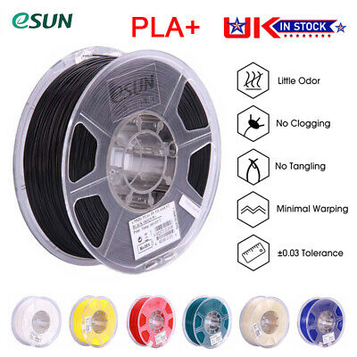 ESUN PLA+ 3D Printer Filament Printing 1.75mm 1KG Spool Muti-Color Material Kit • 15.89£