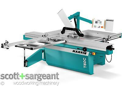 Martin T60C Sliding Table Panel Saw >>Price Includes VAT<< • 18,672£