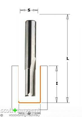 CMT 811 Straight Router SOLID TC S=6.35 D=4X10X45    Price Is Inc VAT@ 20% • 29.19£