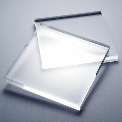 CUT TO SIZE Clear Acrylic Perspex Plastic Sheet Greenhouse Glass Replacement • 54.51£
