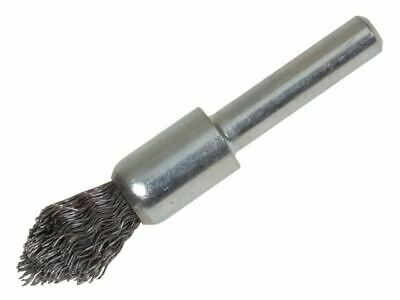 Lessmann Pointed End Brush With Shank 12/60 X 20mm 0.30 Steel Wire • 10.33£