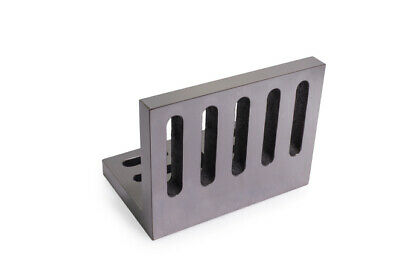 88x75x63 Webbed Slotted Angle Plate (Open End) Cast Iron Angle Plates PREMIUM • 35£