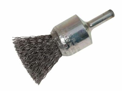Lessmann End Brush With Shank 23/22 X 25mm 0.30 Steel Wire • 11.62£