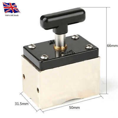 Switchable Magnet / Magnetic Welding Fixture Clamp 60kg Force • 45£