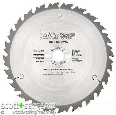 CMT 293 Industrial Rip Sawblade D=300 D=30 Z=24  | Price Is Inc VAT@ 20% • 41.60£