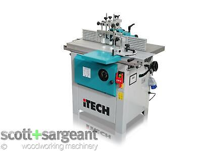 ITECH WS1000TA Spindle Moulder With Sliding Table [This Price Includes VAT 20%] • 2,310£