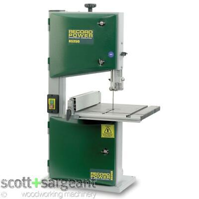 Record Power BS250 Premium Bandsaw [This Price Includes VAT 20%] • 329.93£