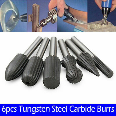 Rotary Burs Steel Carbide Burrs File Newest Protable Reliable Top Sale • 8.11£