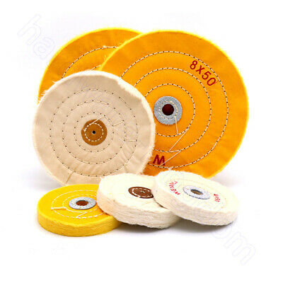 Grinding Wheel 2  - 8   Abrasive Disc Rotary Tool Jewelry Metal Wood Polishing • 43.79£