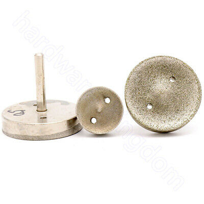 Diamond Grinding Head 20 - 50 Mm Polishing Drill Bit Coarse/Fine 6 Mm 1/4  Shank • 21.89£