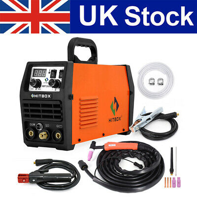 TIG MMA ARC Welder 200A LED TIG Welding Machine Welder Inverter 220V UK Plug • 169.99£