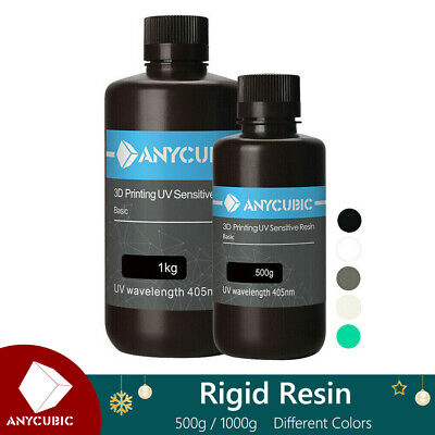 Anycubic UV Resin 405nm Sensitive Rapid 500ml/1L For LCD Photon MonoX 3D Printer • 22.99£
