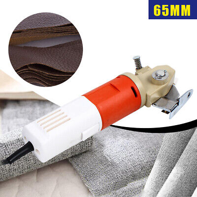 Cloth Cutter Fabric Cutting Machine 65mm Shear Rotary Electric Scissors 220V • 39.53£