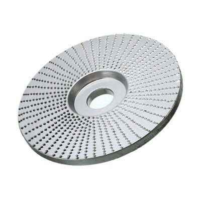 4-inch Woodwork Grinding Shaping Angle Grinder Disc Wheel Pad Flat Removal Clean • 9.29£
