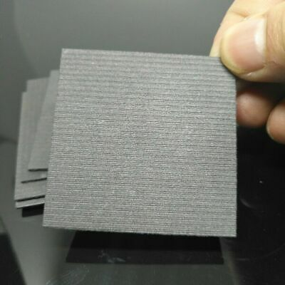 5pcs 99.99% Pure Graphite Electrode Rectangle Plate Sheet 50*50*2mm F Electrode • 4.98£