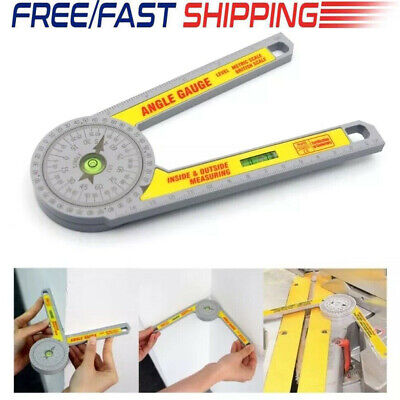 Angle Finder Miter Saw Protractor Measuring Ruler Tool Goniometer Pro Durable Uk • 8.59£