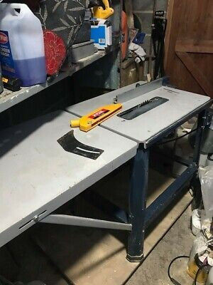 RYOBI (RTS 2285 S) 3HP 2.2Kw TABLE SAW In Very Good Condition And Working Order • 28£