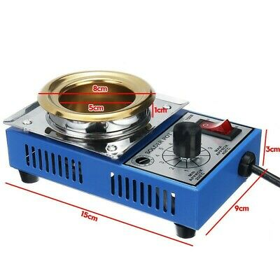 1pc Soldering Pot Stainless Steel Plate 200-480 Degree Celsius 150W Equipment • 19.01£