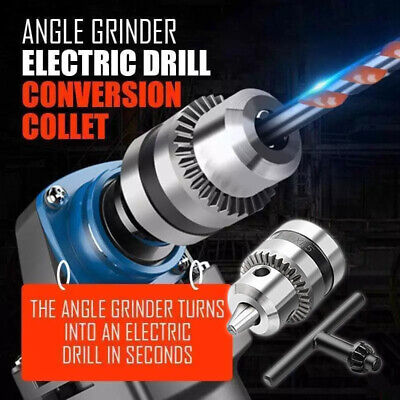Angle Grinder Electric Drill Conversion Collets Chuck Convert Adapter Head Tools • 7.95£