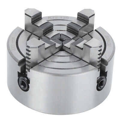 4-Jaw Independent Lathe Chuck Strong Clamping Force Workholding 3000r/min • 53.78£