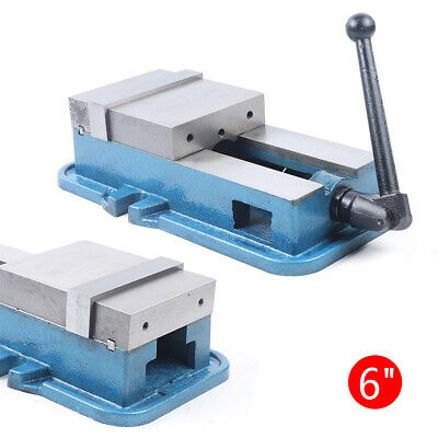 6  Milling Drilling Machine Bench Clamping Vice Precision Lock Vise 160mm New • 95.99£